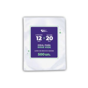 Embalagem Sous Vide 12x20 - 500 Unidades