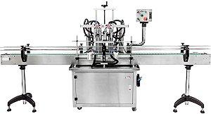 Envasadora de Liquidos Automatica em Linha - 100-1000 ML (2-4-6-8 Bicos)