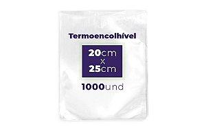 Embalagem a vácuo Termo Encolhível 8 micras 20x25 - 1000 und