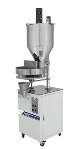 Dosadora Semiautomática para enchimento de grãos e pó com Mixer- KFG500