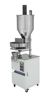 Dosadora Semiautomática para enchimento de grãos e pó com Mixer- KFG250