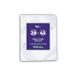 Embalagem a Vácuo 28x45 - 100 Unidades