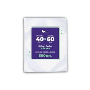 Embalagem a Vácuo 40x60 - 500 Unidades