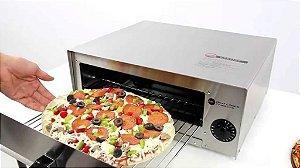 Mini Forno Elétrico para pizza/calzone/esfiha Profissional