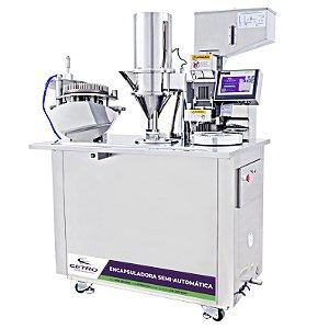 Encapsuladora Semi-Automática Horizontal com Painel CLP Digital