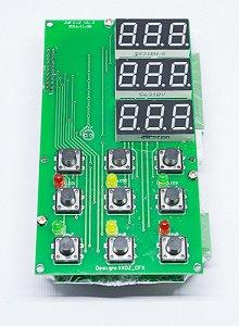 Placa de Comando do Painel / Conector de Sensor para Dosadora de Balança
