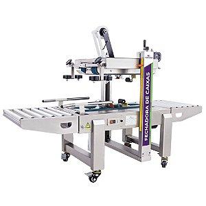 Fechadora de Caixas com Tração Inferior e Superior de Inox FXA 6050