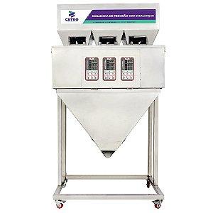Dosadora de Precisão com 3 Balanças Eletrônicas 10 - 3000g