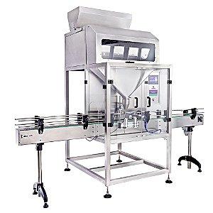 Dosadora Automática em Linha com 4 Balanças CAFM 4000