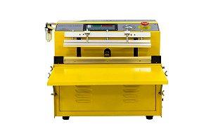 Seladora a Vácuo de Bico de Sucção Industrial Automática DZQ500 TE com ATM