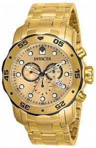Relógio Invicta Pro Diver 80070 Dourado