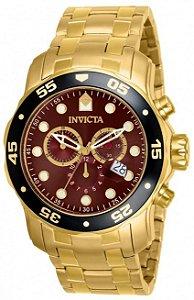 Relógio Invicta Pro Diver 80065 Dourado