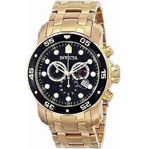 Relógio Invicta Pro Diver 0072 Dourado
