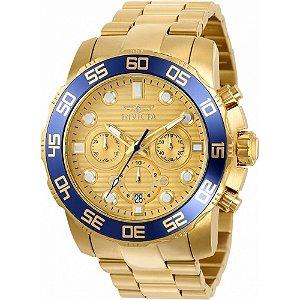 Relógio Invicta Pro Diver 22227 Dourado