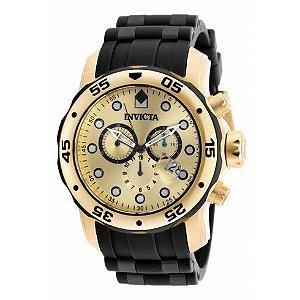 Relógio Invicta Pro Diver 18040 - Dourado