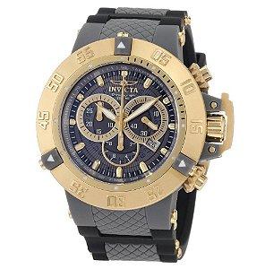 Relógio Invicta Subaqua 0930 Cinza Dourado