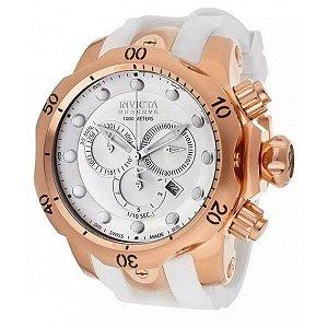 Relógio Invicta 11953 Reserve Venom Branco Rose