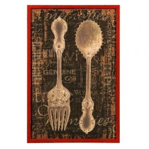 Quadro Decorativo - Cutlery Style - 61x41cm