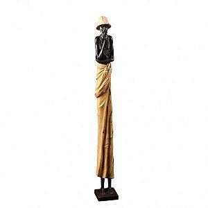 Estatueta - Homem Africano G-02