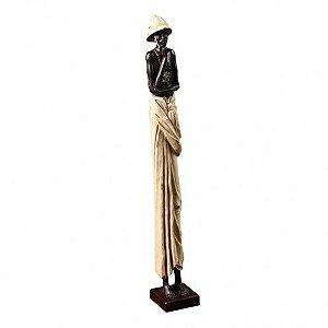 Estatueta - Homem Africano G-01