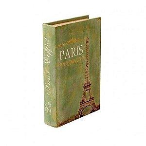 Livro Decorativo - Paris Eiffel