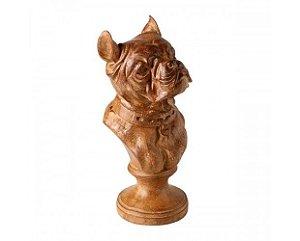 Estatueta - Busto de Cachorro