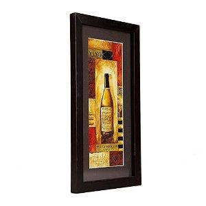 Quadro Decorativo - Wine - 33x17cm