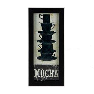 Quadro Decorativo - Mocha - 27x13cm