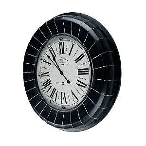 Relógio de Parede Gigante - Metal 80cm - Paris France