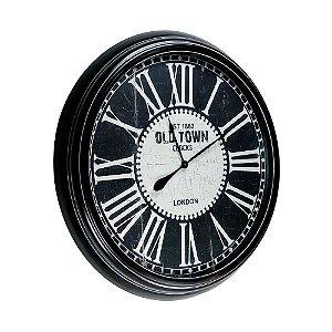 Relógio de Parede Gigante - Metal 93cm - Old Town