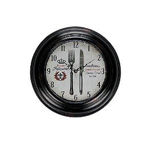 Relógio de Parede - Metal 32cm - France Cutlery