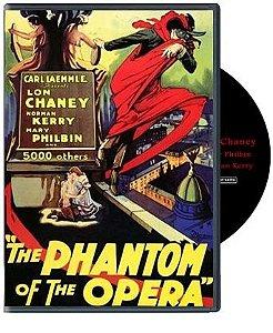 DVD - O Fantasma da Ópera (1925)