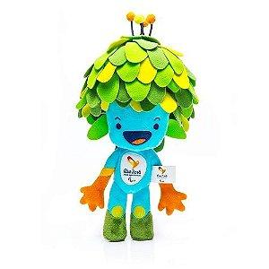A - Pelúcia Mascote Paralimpíadas Rio 2016 30cm (Produto Oficial)