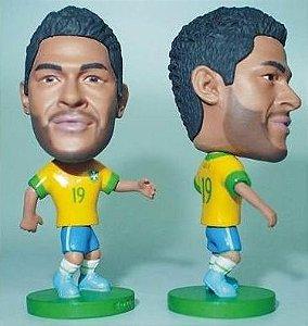 Mini Craque Hulk Seleção Brasileira