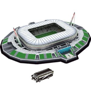 Maquete do Estádio do Juventus Allianz Stadium
