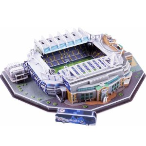 Maquete do Estádio do Chelsea Stamford Bridge