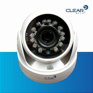 Câmera Dome AHD - 720P - 24 LEDs  - Lente de 2.8mm - PLÁSTICO com CABO 4 EM 1