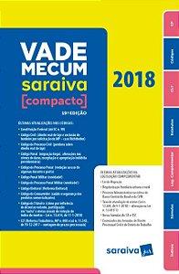 Vade Mecum Saraiva Compacto - Brochura - 19ª Ed. 2018