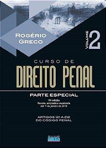 Curso De Direito Penal - Parte Especial - Vol. II - 15ª Edição - ROGERIO GRECO