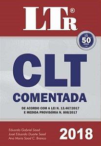 CLT Comentada - 50ª Ed. 2018