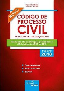 Novo Código de Processo Civil - 2018 - Jair Lot Vieira