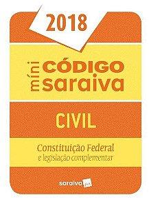 Minicódigo Civil - 24ª Ed. 2018 - SARAIVA