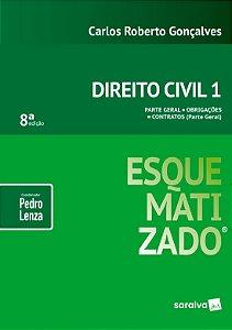 Direito Civil Esquematizado - Vol. 1 - 8ª Ed. 2018