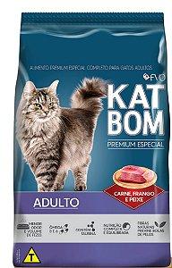 Ração Premium Especial Katbom Mix Sem Corantes