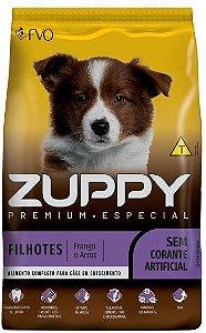 Ração Premium Especial Zuppy Filhote Medio e Grande Sem Corantes 20kg