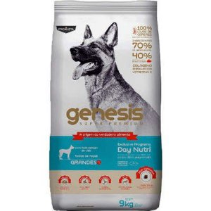 Ração Premiatta Genesis Raças Grandes 9kg ( 40% de Preteína)