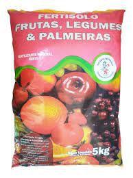 Fertilizante Adubo Para Frutas Legumes E Palmeiras - Fertisolo