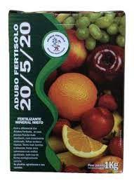 Adubo Fertisolo Npk 20-05-20 1kg