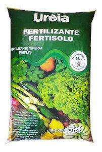 Uréia Fertilizante Mineral Simples Npk 45-00-00 5kg Pacote - Fertisolo