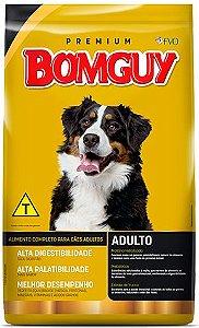 Ração Bomguy Premium Carne Adulto Médio e Grande Sem corantes